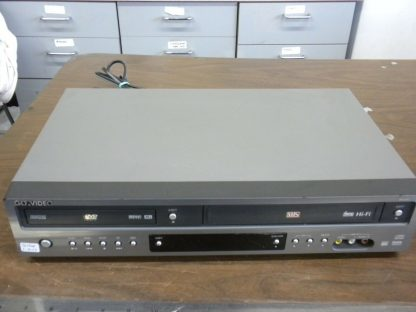 Go video DV2130 DVDVHS Dual deck player with remote 264580448065 3