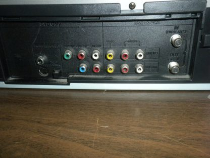 Go video DV2130 DVDVHS Dual deck player with remote 264580448065 7