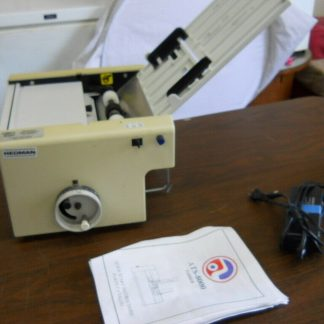 Hedman desktop folding machine works great 264717815845