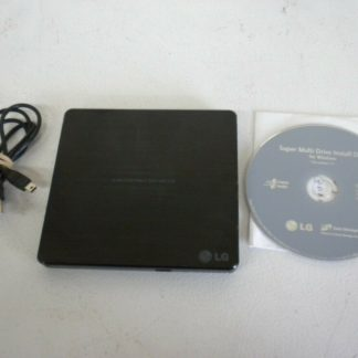 LG External Slim Portable DVD Writer Model SP60NB50 Works Great with software 274115797255