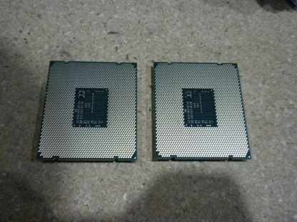 LOT OF 2 Intel Xeon E5 2620 v3 24GHz 20MB 8GTs SR207 LGA2011 6 Core CPU 274037371235 6
