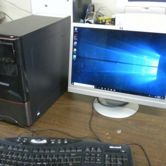 Lenovo 10091 desktop computer i3 34Ghz1TB4GBWin 10 Works GreatNice Cond 264607168575