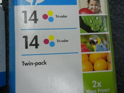 Lot of 4 Genuine HP 14 Black TrI color ink Cartridge CP1160 C5011D Sealed NEW 274265552825 5