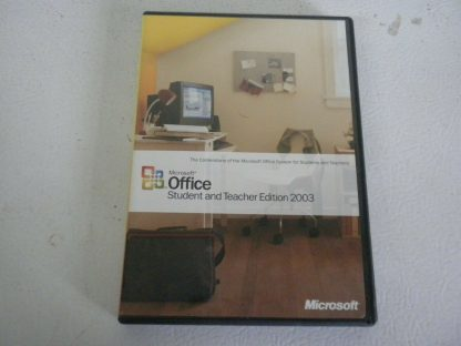 Microsoft Office 2003 Student and Teacher Edition Retail 3 Users Used 274115815465 4