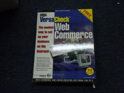 Mips VersaCheck Web Commerce for PC Windows 319598NT 40 264352174705
