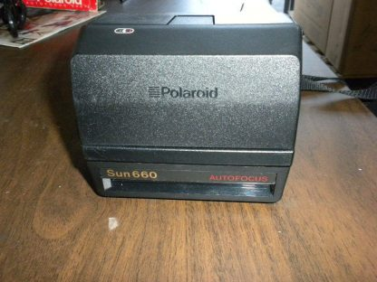 Polaroid Land Camera Sun 660 Instant Autofocus With Flash Box Manual 273468804375 2
