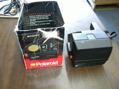 Polaroid Land Camera Sun 660 Instant Autofocus With Flash Box Manual 273468804375 4