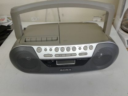 Sony CFD S05 CD Player Radio Cassette AUX Portable Stereo Boombox EXCELLENT 264870084455 2