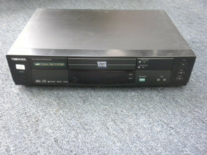 Vintage Toshiba Model SD 3109U DVD Video Player Dual Disc System w remote 273949770125 2