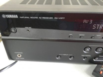 Yamaha RX RX V377 51 Channel 180 Watt Receiver 264910381645 2