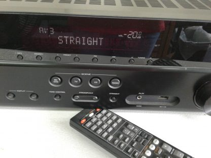 Yamaha RX RX V377 51 Channel 180 Watt Receiver 264910381645 4