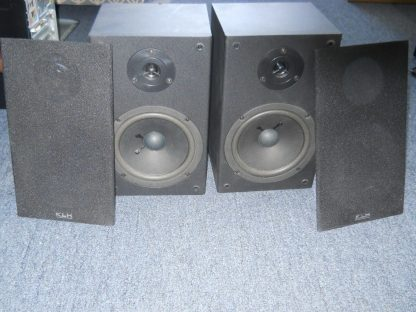 KLH L652B 100W Bookshelf Speakers Pair 264580448056 2