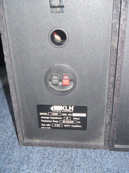 KLH L652B 100W Bookshelf Speakers Pair 264580448056 6