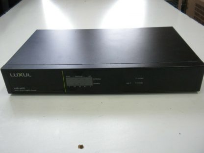 Luxul ABR 4400 4 input Multiple WAN Gigabit Router for Redundancy speed no box 274147837176 2