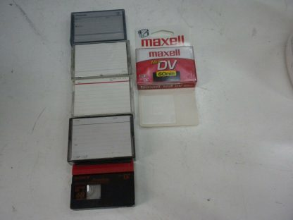 Maxell Mini DV 60min NEW and extras used tapes 264607828536 2