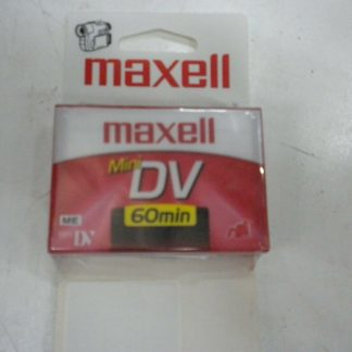 Maxell Mini DV 60min NEW and extras used tapes 264607828536