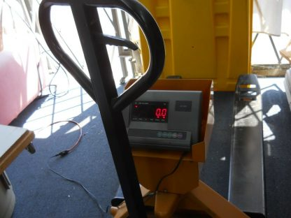 Pallet truck scale has a 1000 lbs capacity local pick up 264812776986 3