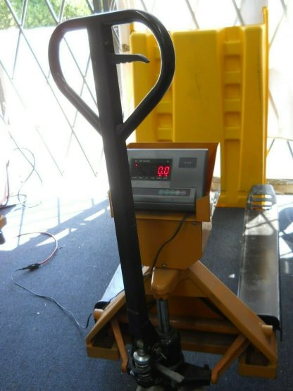 Pallet truck scale has a 1000 lbs capacity local pick up 264812776986