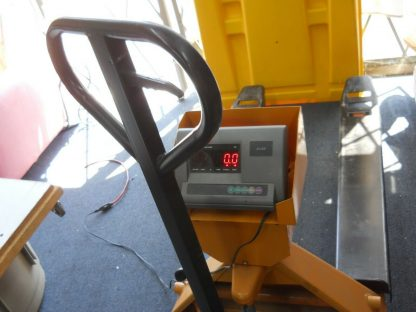 Pallet truck scale has a 1000 lbs capacity local pick up 264812776986 5