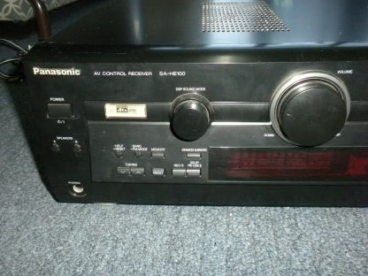 Panasonic SA HE100 350W Multi Input MOS FET Audio Video Home Theater Receiver 264277759756 10
