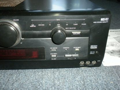 Panasonic SA HE100 350W Multi Input MOS FET Audio Video Home Theater Receiver 264277759756 9