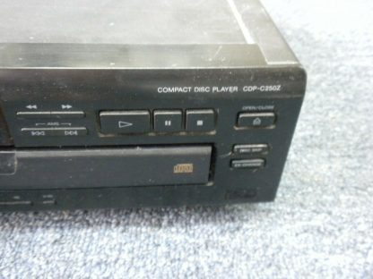 Sony 5 CD Changer CDP C250Z Audiophile Quality Works Great 273812320356 4