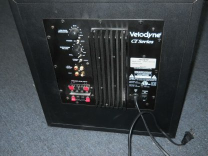 Velodyne CT 100 Home Theater Powered Subwoofer Works Great 274405571266 2