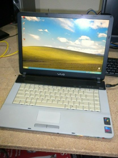 Vintage Sony Vaio Pcg 792L VGN FS550 Windows XP Works GREAT 274241977846