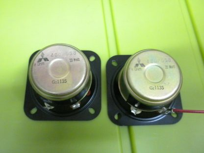 mitsubishi MGA GZ1135 Tweeter 8 OHM 20W Pulled from Home Stereo Cabinet 274085417086 3