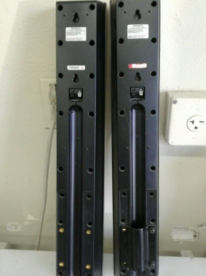 2 SONY SS TS73 Tower Speakers RIGHT LEFT works great 274571009887 7