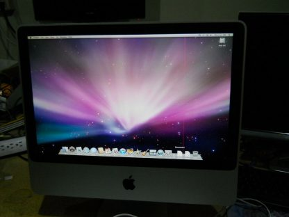 Apple iMac 20 Desktop 24GHZ 500GB Works But has one red vertical line 264760934187 2