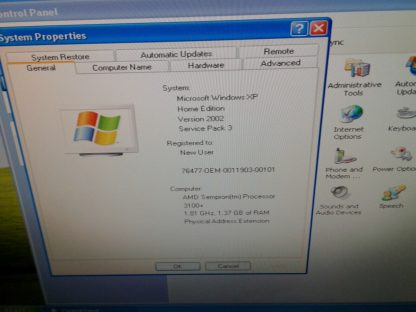 Compaq Presario SR1520NX Vintage Windows XP works great Low hours 274445424957 2