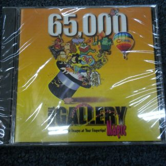 Corel Gallery Magic 65000 Windows 31x runs on Windows 95 New Sealed 264352118457