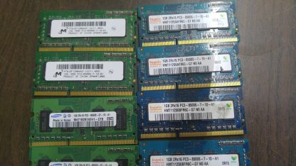 Lot of 20 1GB DDR3 PC8500 sodimm Samsung Hynix Micron 264304665657 2