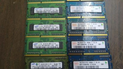 Lot of 20 1GB DDR3 PC8500 sodimm Samsung Hynix Micron 264304665657 3