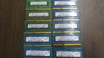 Lot of 20 1GB DDR3 PC8500 sodimm Samsung Hynix Micron 264304665657 4
