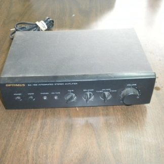 OPTIMUS MODEL SA 155 INTEGRATED STEREO AMPLIFIER USED 264261046657