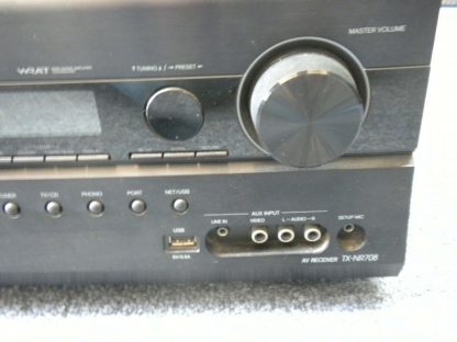 Onkyo TX NR708 Home theater receiver HDMI Internet ready Works Great 264594046337 4