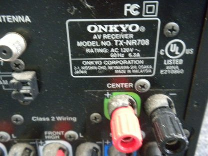 Onkyo TX NR708 Home theater receiver HDMI Internet ready Works Great 264594046337 8
