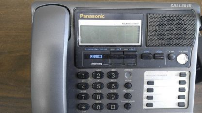 Panasonic KX TG2000B 24 GHz 2 Lines Corded Phone Base Station Good con 273506059217 2
