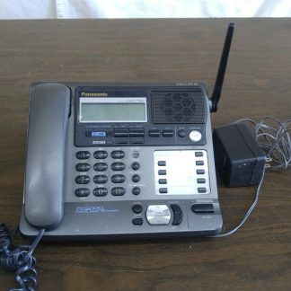 Panasonic KX TG2000B 24 GHz 2 Lines Corded Phone Base Station Good con 273506059217