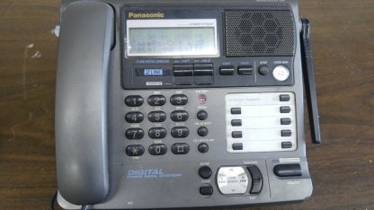 Panasonic KX TG2000B 24 GHz 2 Lines Corded Phone Base Station Good con 273506059217 6