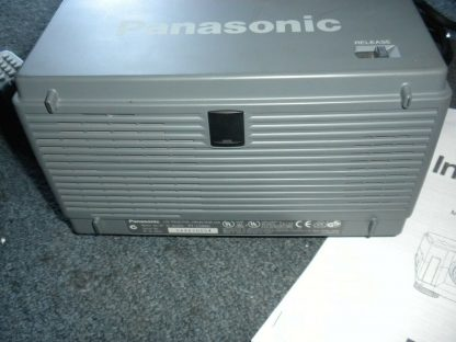 Panasonic PT L556U LCD Projector Remote Manual 30ft power cable Pelican Case 274073094497 2