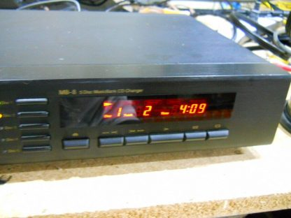 Vintage Rare Nakamichi MB 8 CD Player 5 disc Musicbank Changer 264714732727 2