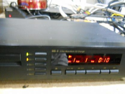 Vintage Rare Nakamichi MB 8 CD Player 5 disc Musicbank Changer 264714732727 3