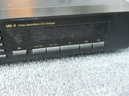 Vintage Rare Nakamichi MB 8 CD Player 5 disc Musicbank Changer 264714732727 7