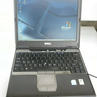 DELL latitude D410 Windows XP Pro SP3 w docking station Works GREAT Good Cond 264654054358