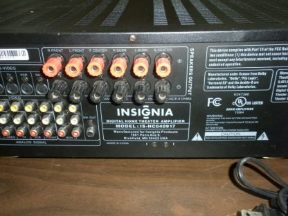 Insignia IS HC040917 Multi Input Audio Video Digital Home Theater Amplifier 264570274148 5