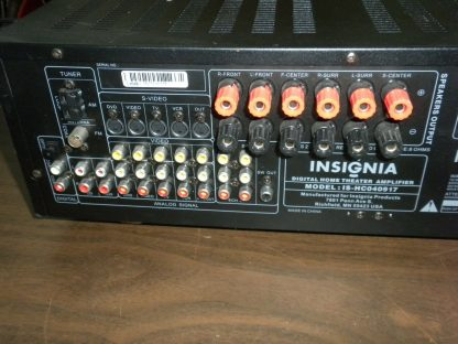Insignia IS HC040917 Multi Input Audio Video Digital Home Theater Amplifier 264570274148 6