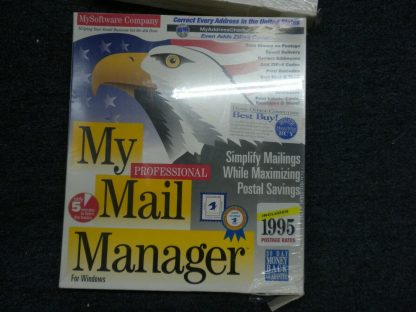 My Mail manager My Business Cards MySoftware Company Wins 31 or higher 1995 NIB 264352187358 2